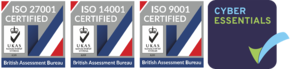 ISO 9001  ISO 14001 ISO 27001 Certification Celerity Limited