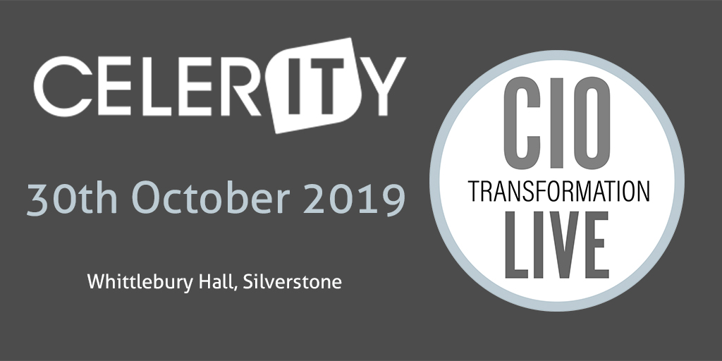CIO Transformation Live October 2019