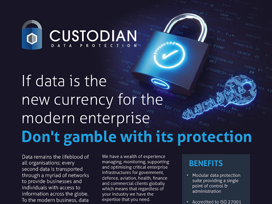 Custodian Data Sheet Download Image