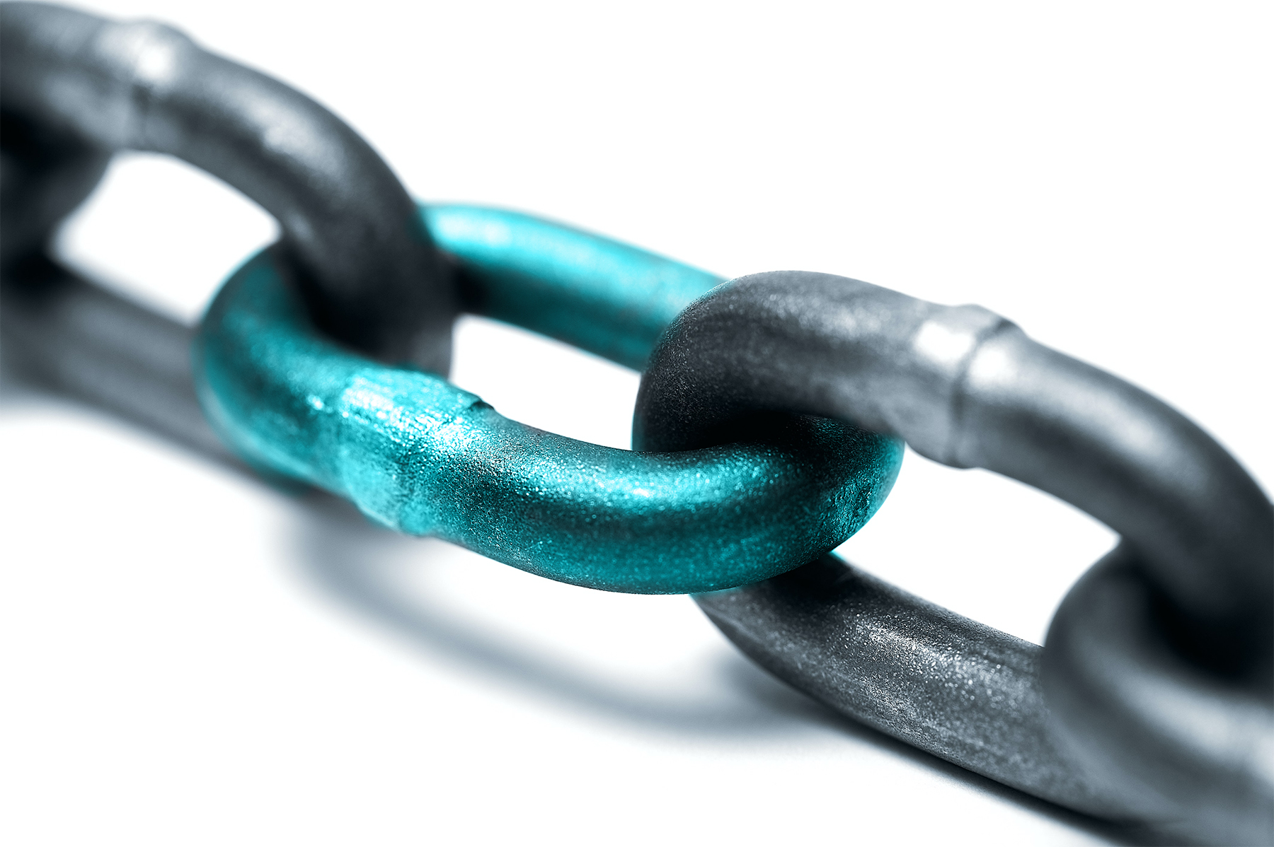 supply chain - blue link image