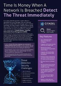 threat detect data sheet image